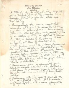 Diary of Ferdinand Marcos - Loose Pages and Attachments (1970) 67