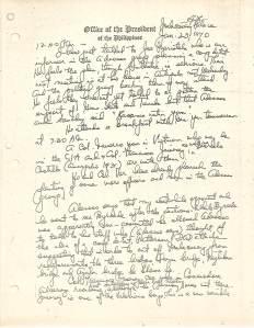 01 Diary of Ferdinand Marcos, 1970, 0001-0099 (Jan01-Feb28) 49