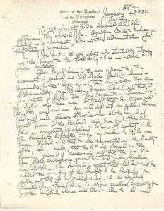01 Diary of Ferdinand Marcos, 1970, 0001-0099 (Jan01-Feb28) 60