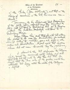 01 Diary of Ferdinand Marcos, 1970, 0001-0099 (Jan01-Feb28) 61