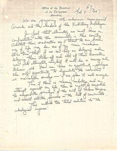 01 Diary of Ferdinand Marcos, 1970, 0001-0099 (Jan01-Feb28) 69