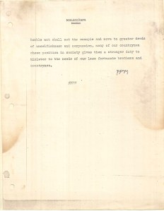Diary of Ferdinand Marcos - Loose Pages and Attachments (1970) 2